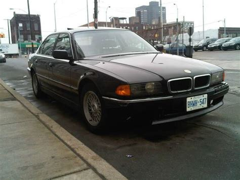 how things work cars 1996 bmw 7 series head up display find used 1996 bmw 740 il black 141000 miles needs front end work and all tires in detroit