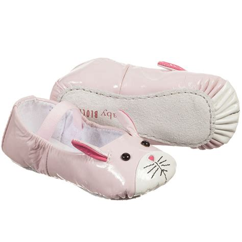 lapin house shoes bloch baby girls pink lapin ballerina shoes childrensalon