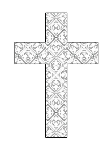 stained glass cross l stained glass cross coloring page ebcs 4363962d70e3