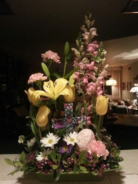 easter arrangements easter floral arrangement floral design