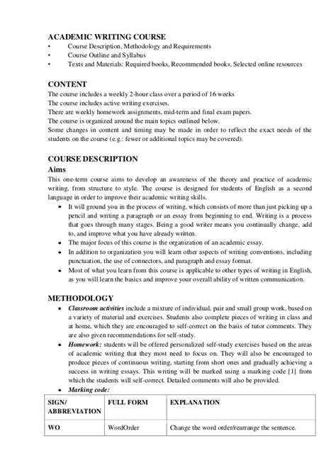 Essay Writing Course by Essay Writing Course Research Paper On Schizophrenia