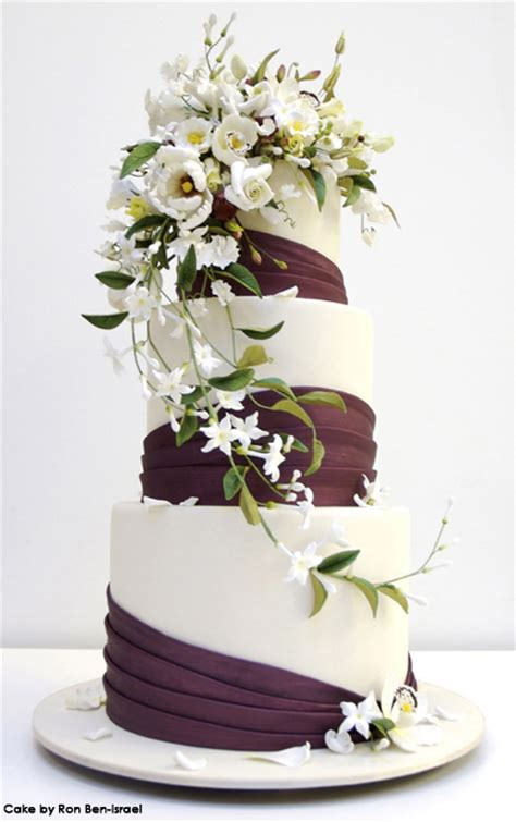 Wedding Cakes With Flowers by Wedding Cakes With Fresh Flowers 2012