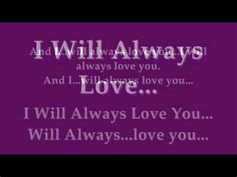 Buku Houston I Will Always You houston i will always you instrumental with lyrics