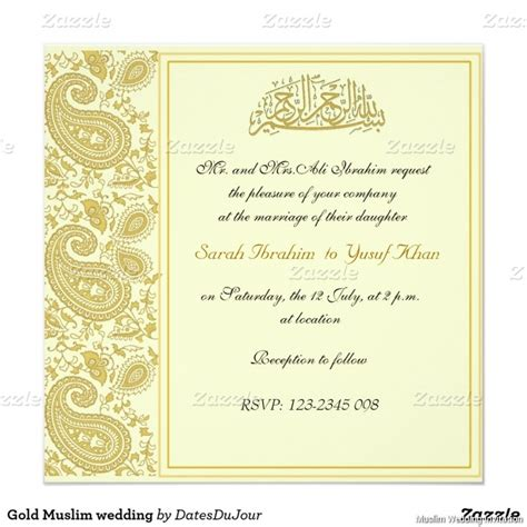 Muslim Wedding Invitation Templates 2017 vintage muslim wedding invitations ideas 2017 get