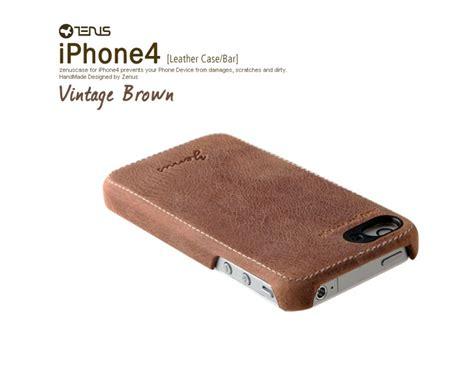 Premium Leather Casing Kulit Kualitas Premium For Iphone 566 zenus iphone 4 4s leather prestige genuine leather premium vintage brown series