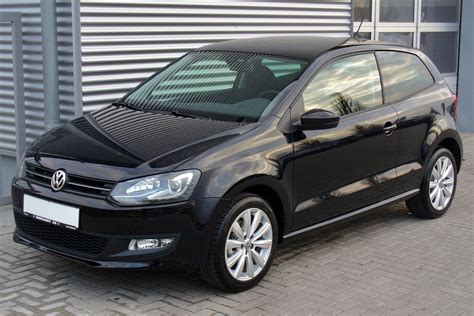 black volkswagen polo file vw polo v 1 2 tsi team deepblack jpg wikimedia commons