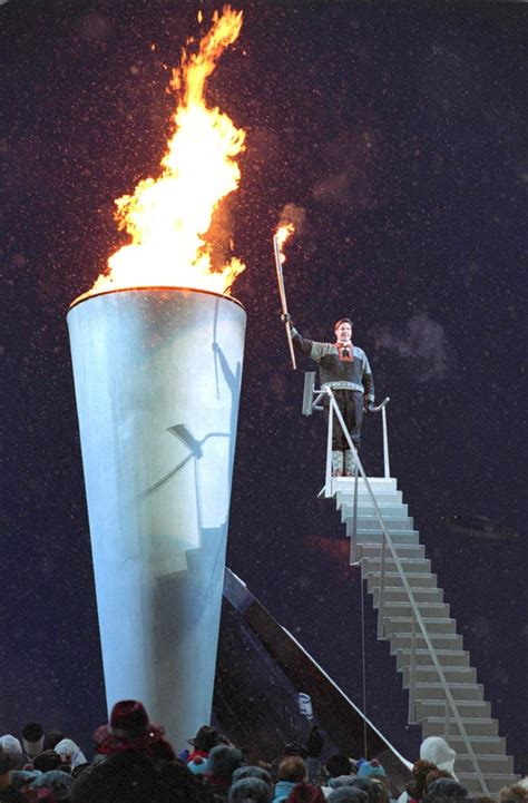 Lighting Olympic Torch file olympic torch lighting ceremony a look back at the