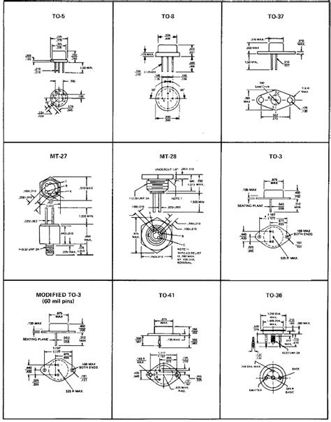power diode packages transistor connections