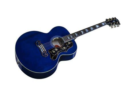 Gibson J200 Standard LTD - Trans Blue - Long & McQuade ... J 200