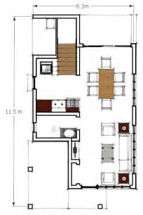Two Storey Residential Building Floor Plan Two Storey Residential Building Ground Floor Plan By