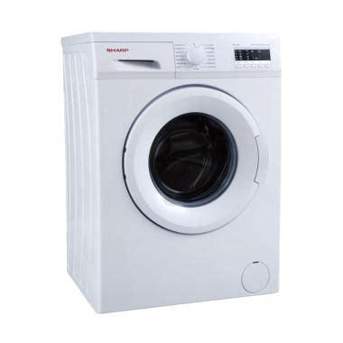 Mesin Cuci Sharp 85 Cl jual sharp esfl862 mesin cuci putih 6 kg front loading