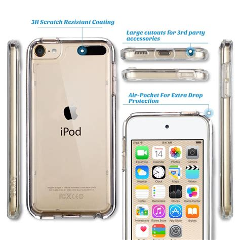 Capdase Ipod Touch 6th Itouch 6 Green Original Bonus Anti Gores ipod touch 6 ipod touch 5 ulak clear