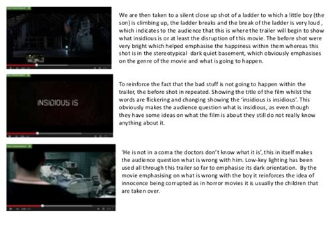 insidious film trailer analysis insidious movie trailer analysis