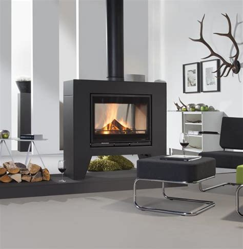 Decorating An Open Floor Plan by Wanders Jules Double Sided Freestanding Stove Wanders