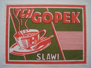Teh Gopek Slawi simple graphics teh gopek