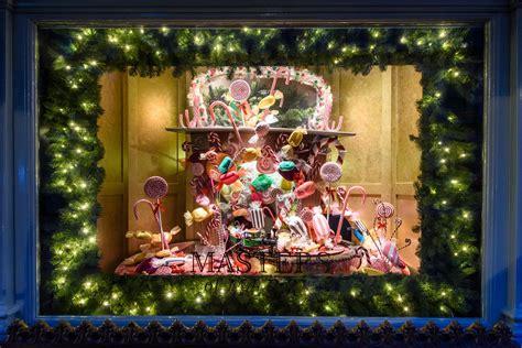 christmas window displays  london london