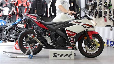 Knalpot Akrapovic Slipon R25 yamaha yzf r25 akrapovic slip on egzoz motodium