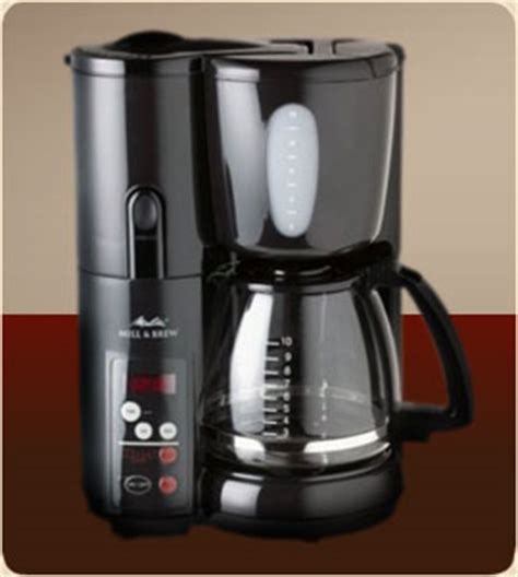 Melitta Electric Coffee Grinder With Custom Cup Melitta Mill Amp Brew Memb1b 10 Cup Coffee Maker The All