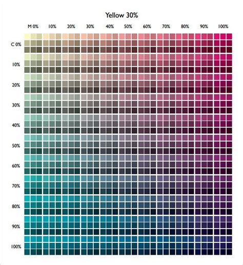 cmyk color chart 25 best ideas about cmyk color chart on color