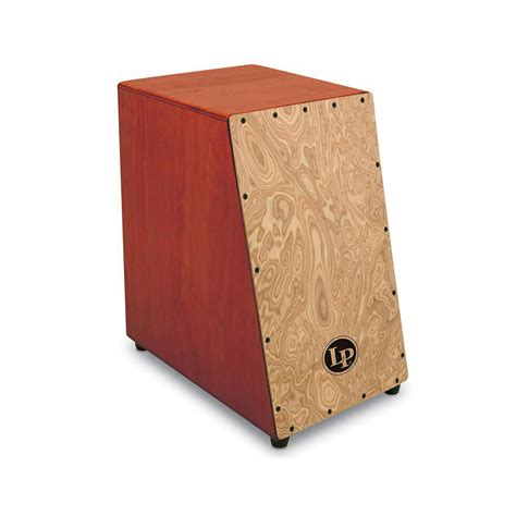 percussion americana lp1433 angled surface cajon 171 cajon