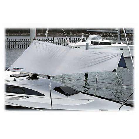 Sailboat Awning Sunshade by Robship Free Hanging Sun Shade West Marine