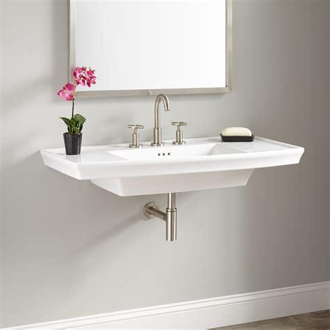 Small Wall Mount Sinks by Olney Porcelain Wall Mount Sink Bathroom