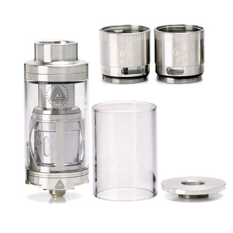 authentic ijoy limitless xl sub ohm rta 4ml 25mm silver
