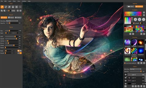 tutorial using photoshop flame painter escape motions