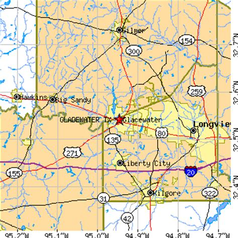 gladewater texas map gladewater texas tx population data races housing economy