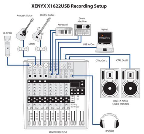 Mixer Xenyx X1622usb behringer xenyx 1622usb console mixer premium 16 input 2 2