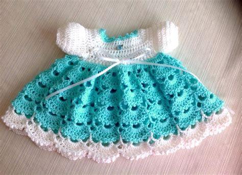 Pattern Newborn Dress | newborn crochet dress janice pattern by jeans needles