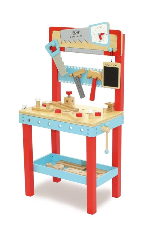 wooden toy tool bench little carpenters wooden toy workbench imaginative play