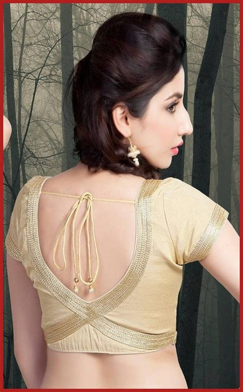 saree blouse designs hubpages wellness homes tattoo design bild designs back blouse back neck designs with borders