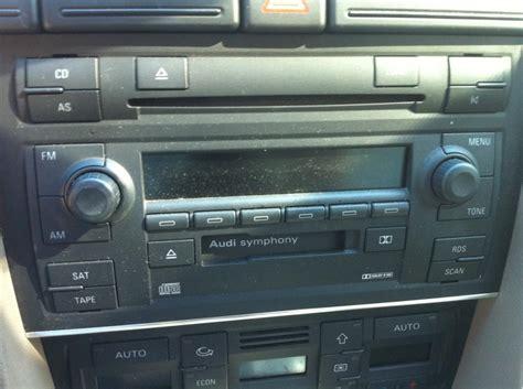 audi symphony ii wiring audi concert radio manual audi