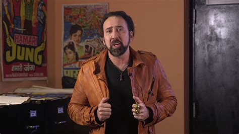 film nicolas cage nouveau nicolas cage showed up at caged a movie marathon of