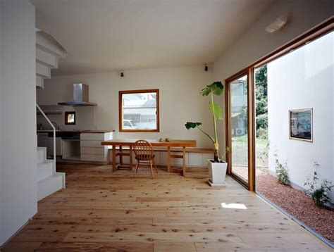 interior of a home inside house outside house by takeshi hosaka architects