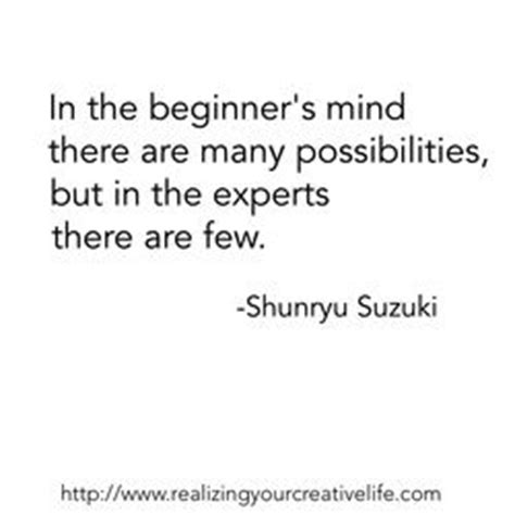 Shunryu Suzuki Quotes In The Beginner S Mind There Are Many Possibil By Shunryu