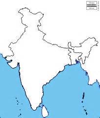 Blank Map Of India Physical by Pics Photos Blank India Physical Map