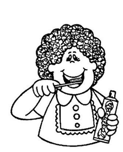 dibujo de ni a cepill ndose los dientes para colorear dibujos para colorear de ni 241 o lavandose los dientes
