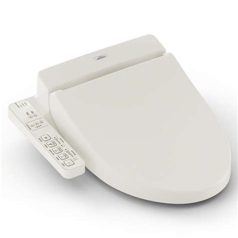 shop toto plastic heated bidet toilet seat at lowes