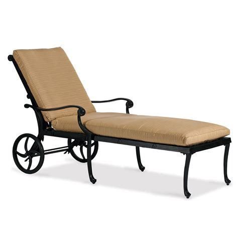 cast iron chaise lounge aluminum chaise lounge 50 sunbrella fabrics hedges