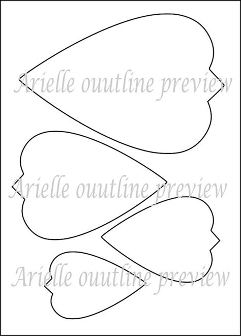 big flower template printable diy paper flower printable templates flower