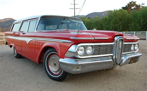 ford edsel wagon controversial classic 1959 edsel villager