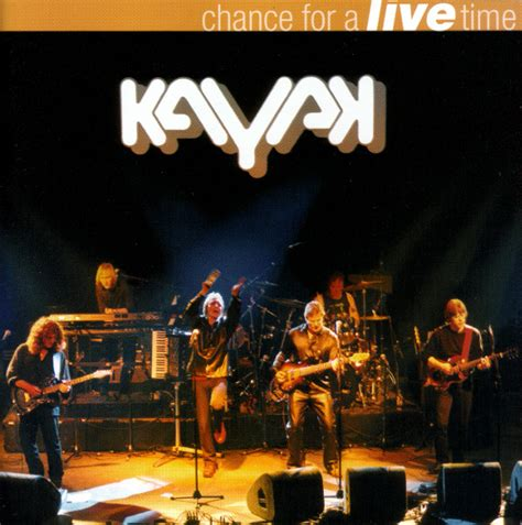 format live cd kayak chance for a live time cd album at discogs