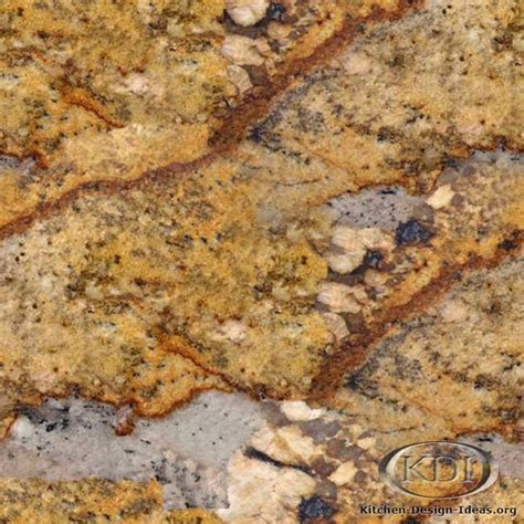 Golden Granite Countertops by Juparana Golden Granite Kitchen Countertop Ideas