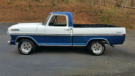 72 ford ranger f100 shortbed 70 mustang 351w 4 speed power