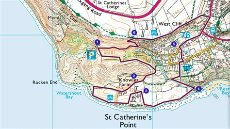 printable road map of isle of wight shedding light on the tip of the wight walk national trust