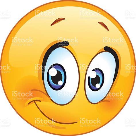 clipart faccine half smile emoticon stock vector 525197703 istock
