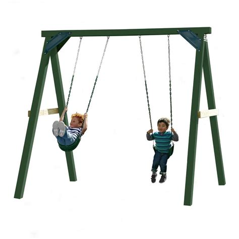 home depot swing set kits swing n slide playsets 1 hour wood complete play set