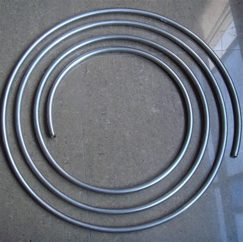 Pipa Stainless 1 Panjang 12 Meter dia 12mm thick 1mm ss304 food grade stainless steel tubing coil stainless steel gas line pipe in